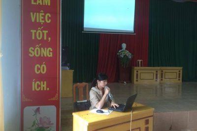 Tuyên truyền Giáo dục giới tính cho học sinh trường PTDTNT Đăk R'Lấp.