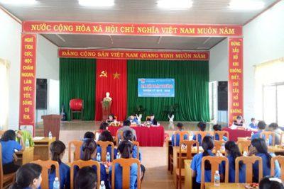 Đại hội Đoàn trường PTDTNT THCS&THPT Đắk R'lấp nhiệm kỳ 2019 – 2020.