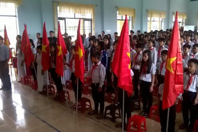 Trường PT DTNT THCS Và THPT Huyện Đăk R'Lấp Long trọng tổ chức lễ khai giảng năm học 2017 -2018