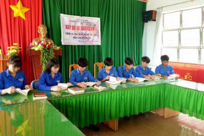 Ngày hội đọc sách năm 2018 Trường phổ thông DTNT THCS và THPT Đăk R'Lấp